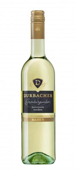 Durbacher Grauburgunder trocken QbA
