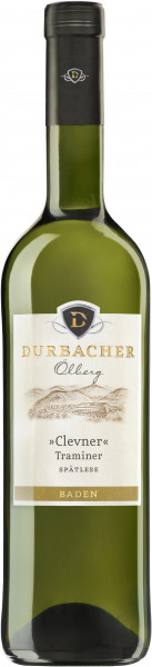 Clevner (Traminer) Spätlese mild Durbacher Ölberg