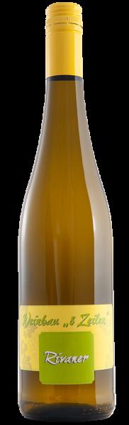 Rivaner Qualitätswein Seußlitzer Schloßweinberg halbtrocken