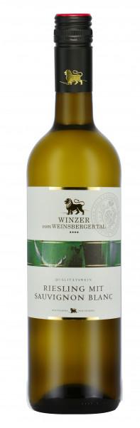 Riesling mit Sauvignon blanc halbtrocken QbA