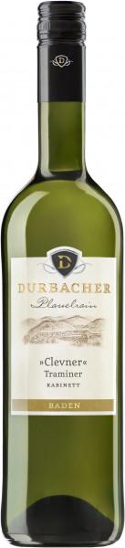 Clevner (Traminer) lieblich Durbacher Plauelrain QbA