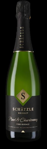Pinot & Chardonnay brut Jahrgangssekt Zero Dosage