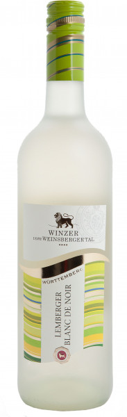"Lemberger Blanc de Noir ""Junge Linie"" halbtrocken QbA"
